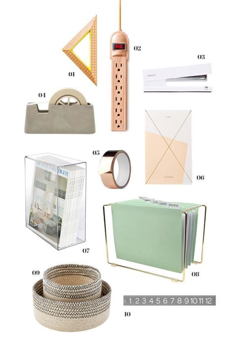 Pretty Office Desk Accessories 75 Best Images About Office Supplies On Pinterest Outfitters Copper And Pencil