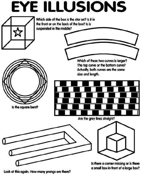 optical illusions printable activities eye illusions coloring page crayola com