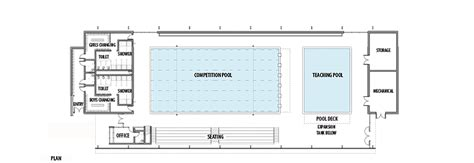 Church Designs And Floor Plans gallery of aisj aquatic center flansburgh architects 11