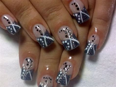 salon nails for women over 40 nails designs on black image collections wallpaper and