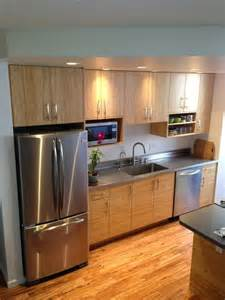Bamboo Cabinets Kitchen Bamboo And Stainless Steel Contemporary Kitchen Hawaii By Hawaii Kitchen Bath