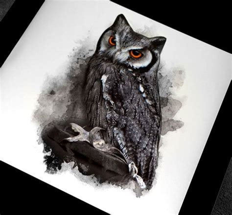 snowy owl tattoo designs 25 best ideas about realistic owl on
