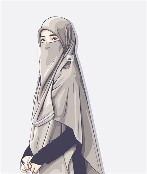 hijab girl anime wallpapers wallpaper cave