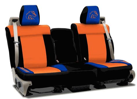 denver broncos jeep seat covers all things jeep boise state collegiate seat