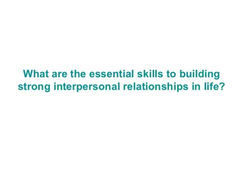 interpersonal relationships in adolescent
