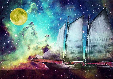wooden boat dream meaning galileo s dream schooner art by sharon cummings painting