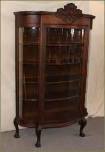 Curio Cabinets Antique Antique Curio Cabinets Home Design Ideas With Antique
