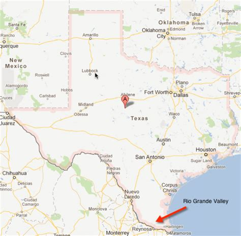 grande texas map grande valley images usseek