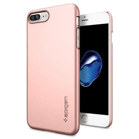 Spigen Thin Fit Iphone X Original Chagne Gold spigen thin fit for iphone 7 plus gold 043cs20474