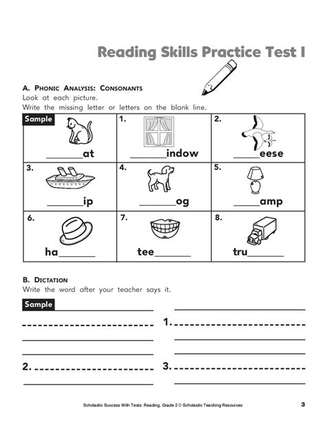 reading comprehension test practice pin by sara cooper on phonics worksheets pinterest