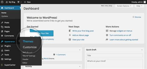 add themes to facebook how to install wordpress themes detailed tutorial