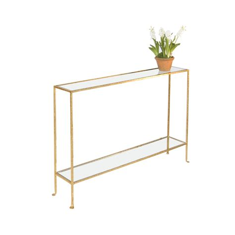 thin console table small console table gold plantation