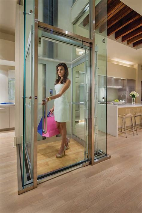 houses with elevators modern home elevators by inclinator co of america home