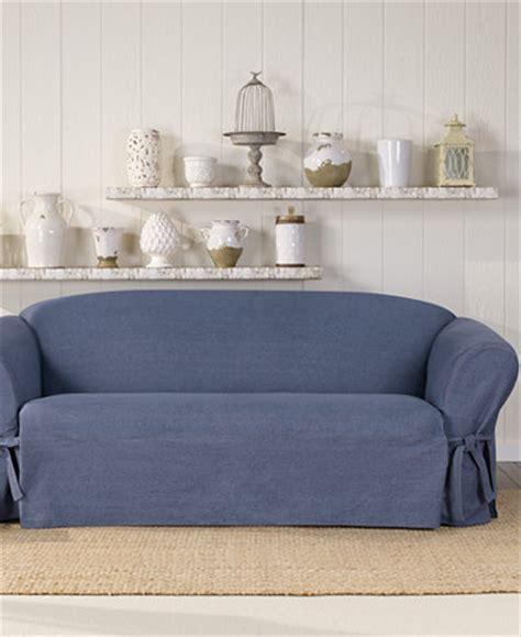 sure fit denim sofa slipcover t cushion sofa slipcover one piece sofa menzilperde net