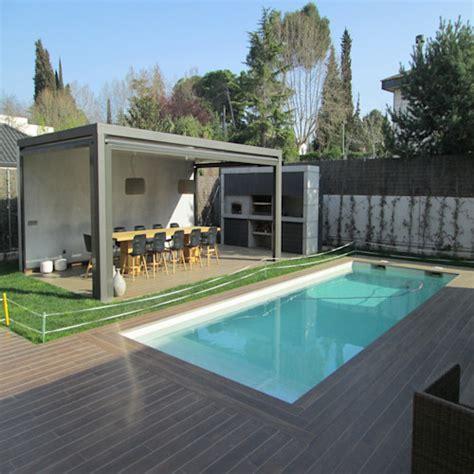 decoracion de jardines pequeños para casas diseo de patios pequeos con piscina jardin t casas