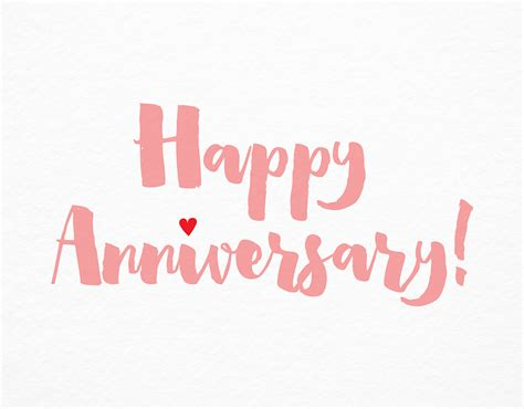 Wedding Anniversary Font by Brush Script Anniversary By Postable Postable