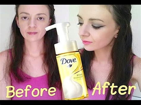 Harga Dove Inner Glow foaming makeup remover dove saubhaya makeup
