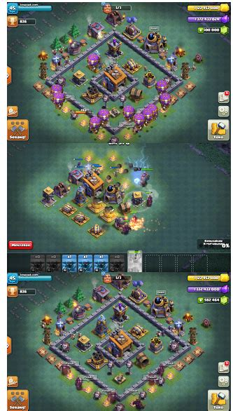 game mod coc terbaik baru clash of null s builder base coc v9 mod apk