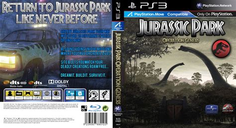 download jurassic park the game ps3 jurassic park operation genesis ps3 case by kingza123 on