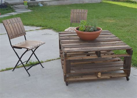 Diy Outdoor Furniture As The Products Of Hobby And The Gifts Pallet Patio Furniture