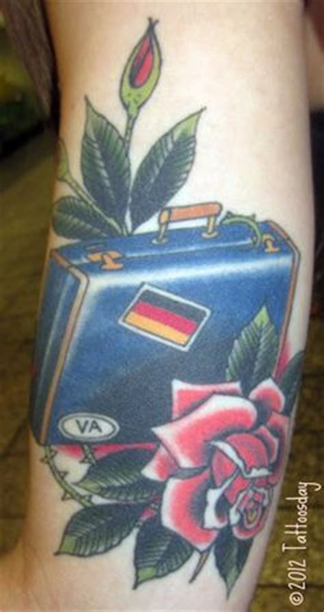 tattoo near penn station suitcase tattoo inked pinterest tattoos and body art