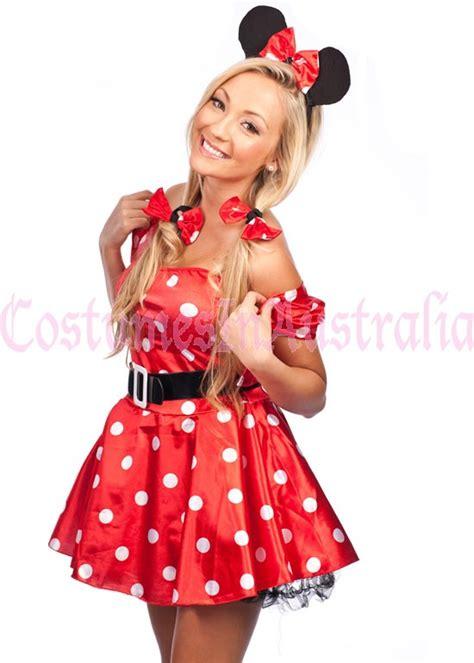Dress Katun Mini Mouse Import minnie mickey mini mouse costume fancy dress hens disney ebay