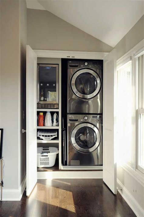 Laundry Closet 25 Ideas To Hide A Laundry Room Amazing Diy Interior