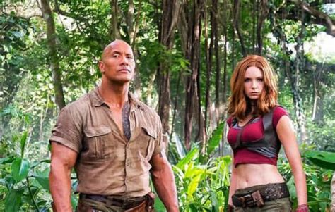 jumanji film hollywood page 1 the rock releases new fiery image from jumanji