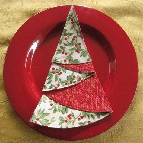 folded fabric christmas tree pattern myideasbedroom com