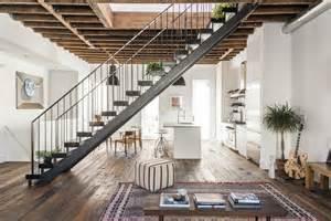 Row House Interior Design Ideas - modern townhouse in new york features loft like aesthetic decor advisor