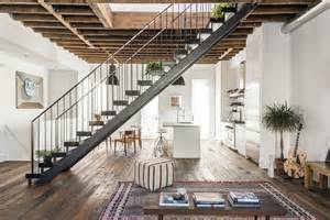 Modern Townhouse In New York Features Loft Like Aesthetic