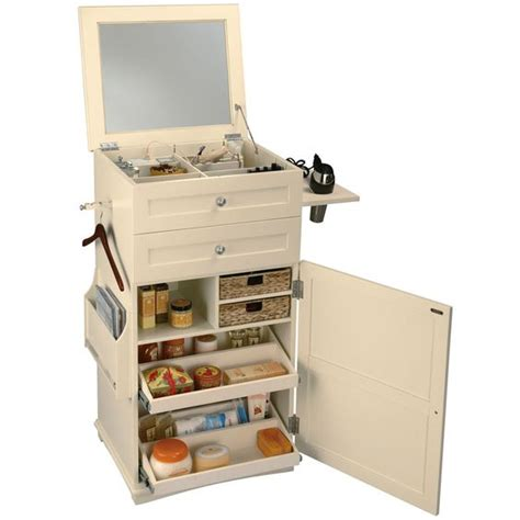Makeup Cart With Drawers This Cart Offers Easy Access To All Bathroom Items In One