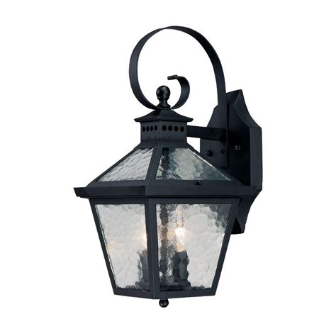 Wall Mounted Light Fixture Acclaim Lighting Craftsman 2 Collection 1 Light Matte Black Outdoor Wall Mount Fixture 5181bk