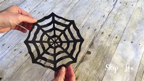 How To Make Spider Webs Out Of Paper - how to make a spider web out of paper
