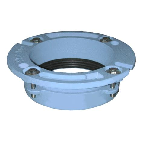 Cast Iron Offset Closet Flange by Quickset 3 In X 2 In Cast Iron Closet Flange C40 320 The Home Depot