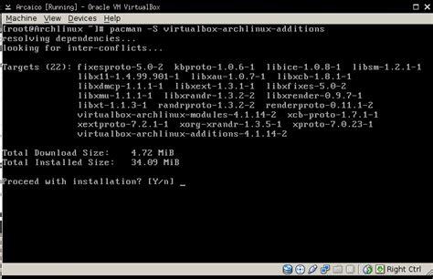 xorg tutorial linux aporte tutorial instalar archlinux en virtualbox