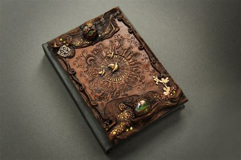 Handmade Book Cover Ideas - artist quits to craft beautiful handmade tale