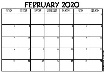 freebie   calendar  monthly planner  tamsyn fegan