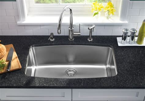 one basin kitchen sink how to choose a kitchen sink part i abode