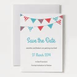 Printable Save The Date Templates by Printable Save The Date Template Bunting 1a O Jpg 1426672481
