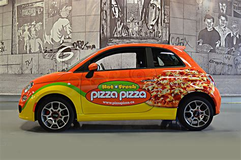 Pizza Auto by Pizza Vehicle Wraps