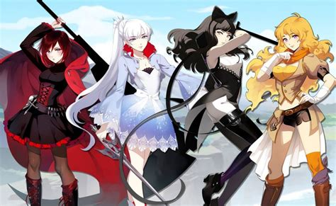 rooster teeth will bring popular anime series rwby to