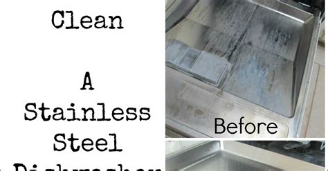 the pin junkie how to clean a stainless steel dishwasher