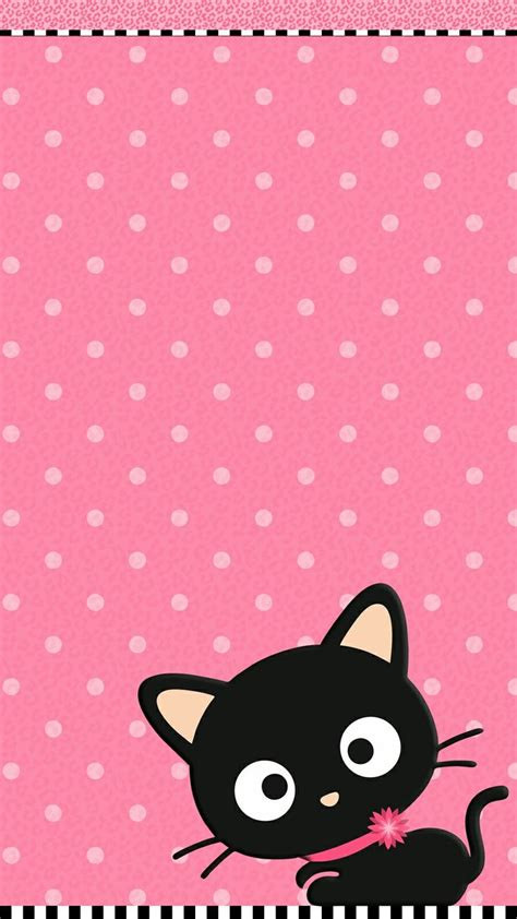 Cat Black Pink size cat pink wallpaper iphone 2018 live