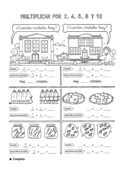 de dibujos multiplicaciones para los ninos a imprimir y colorear actividades para ni 241 os de primaria multiplicaciones