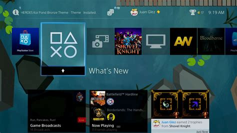 ps4 booty themes ps4 gets new playstation heroes dynamic themes and more