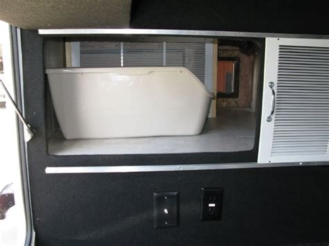How To Install A Litter Box In An RV. These 2 Ways.