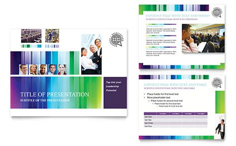 conference powerpoint template business events presentations templates designs