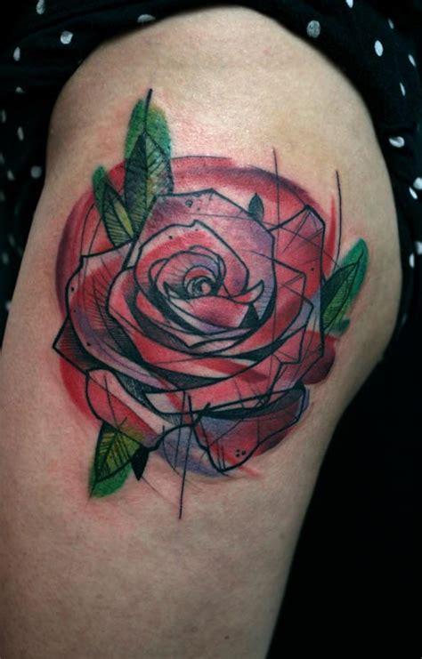 by peter aurisch tattoo peter aurisch s geometric tattoos make something mondays