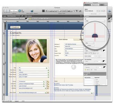 filemaker pro 12 templates filemaker 12 ships with new templates charts 64 bit